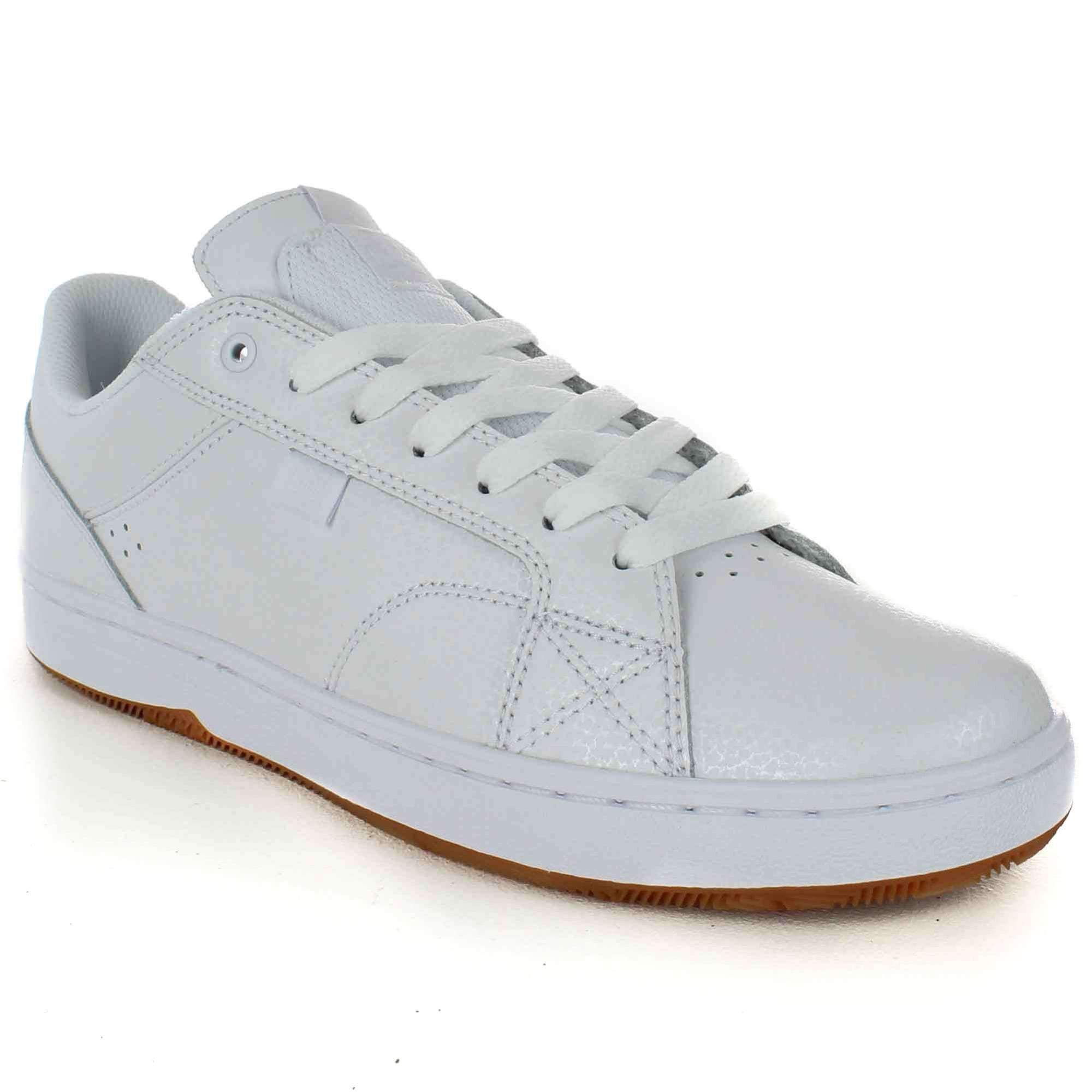 DC Astor Shoes in White Gum