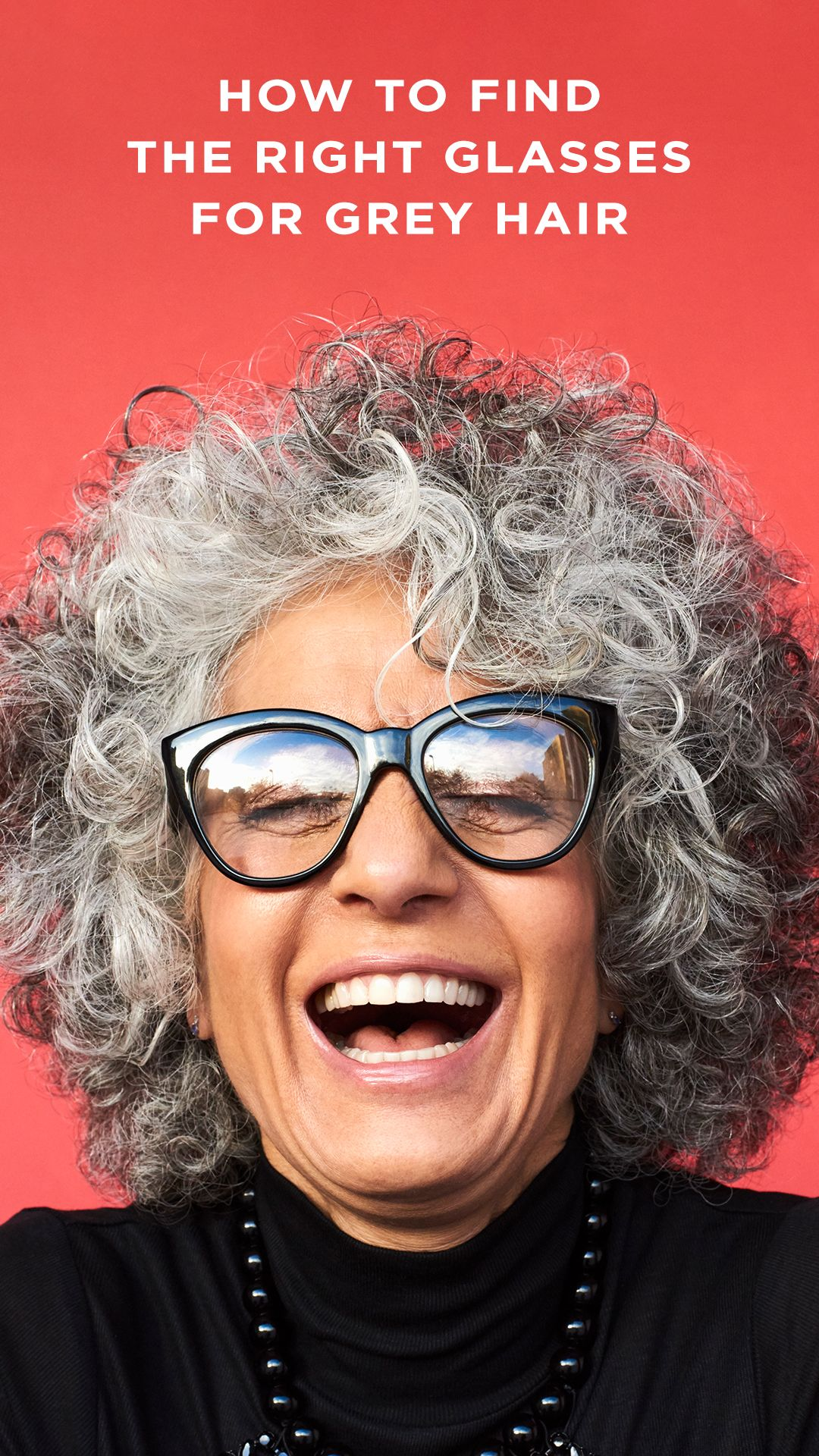 How to Find the Right Glasses for Grey Hair   Grey hair ...