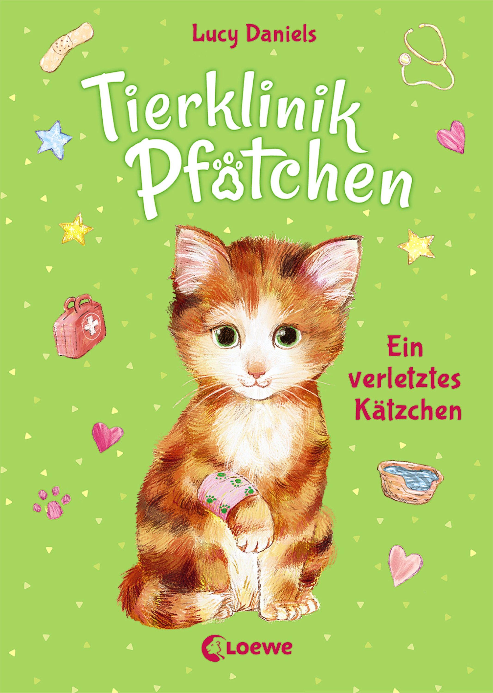 Tierklinik Pfotchen 1 Ein Verletztes Katzchen Kinderbuch Ab 7 Jahre In 2020 Tierklinik Kinderbucher Tiere