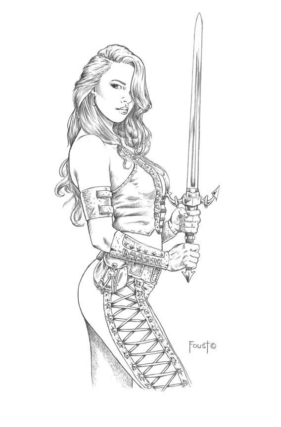 girl pirate Coloring Pages adults | 1008 best Jungle Girls, She ...
