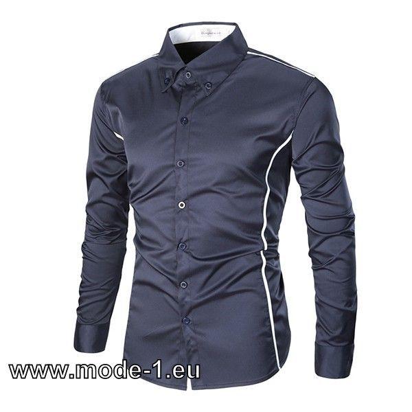 Herren Hemd Online in Blau #Herren #Hemd #Online #in #Blau ...