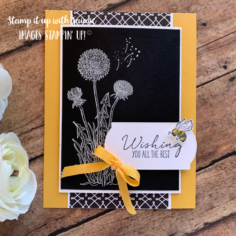 Stampin' Up! Garden Wishes Card