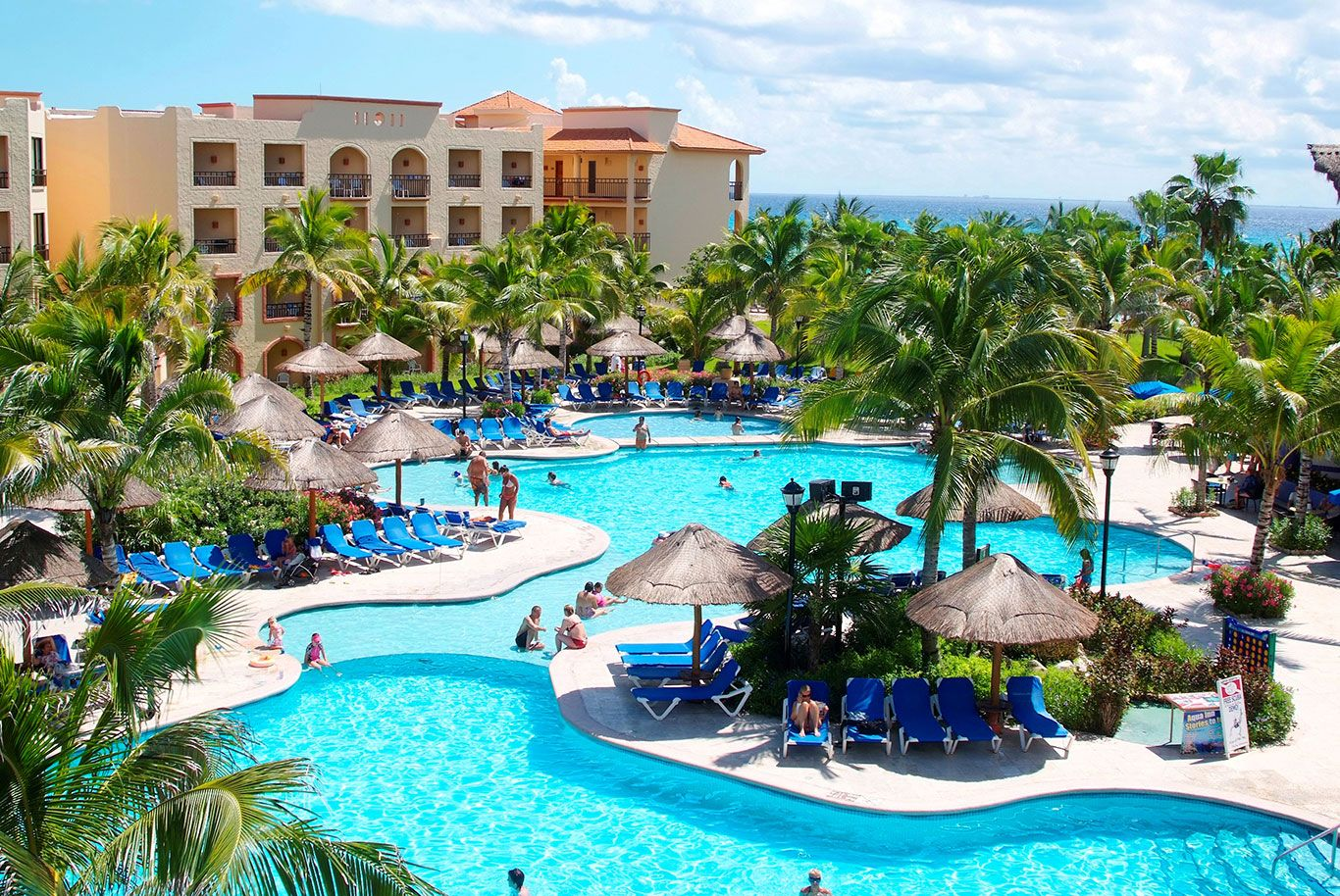 Sandos Playacar Beach Resort  Allinclusive Very Kid