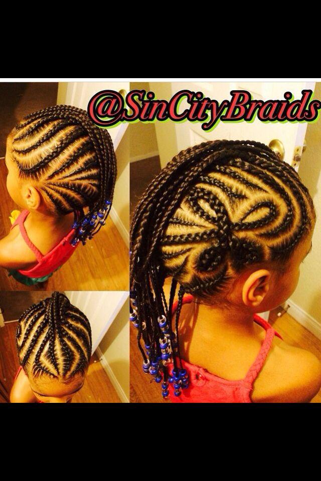 Terrific Toddler Hair Braids Little Girl Hair Hairstyles Hair Short Hairstyles For Black Women Fulllsitofus