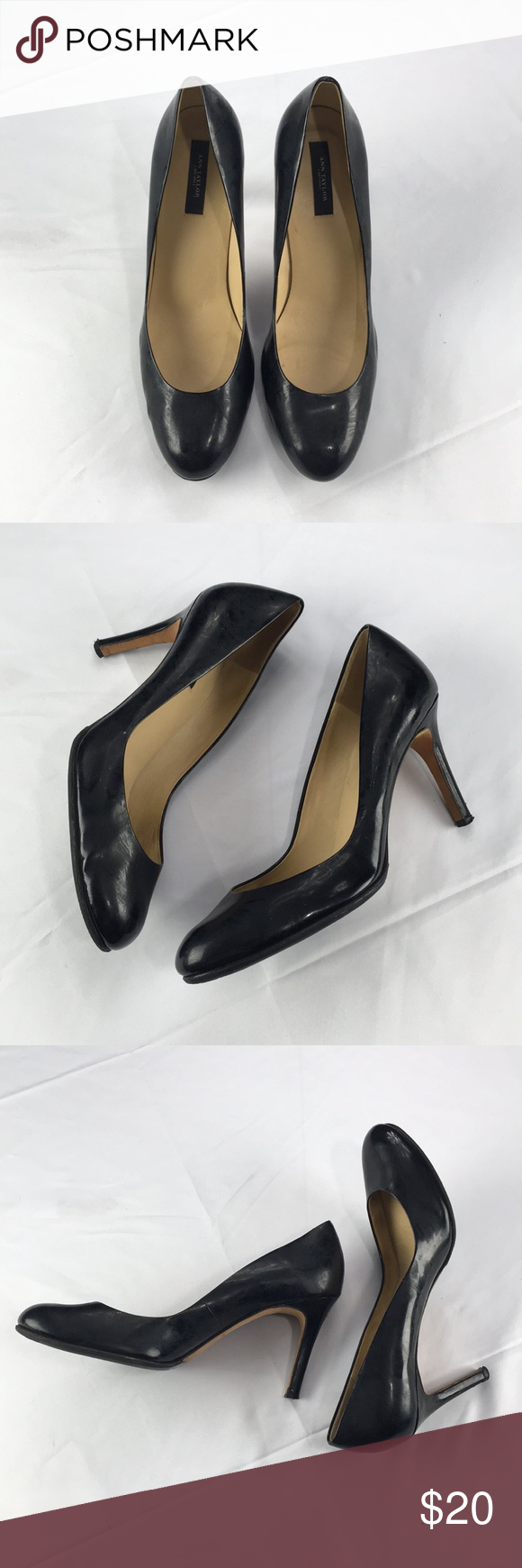Ann Taylor Black Heels   Heels, Black