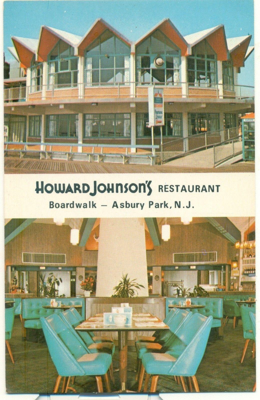 Howard Johnsons Restaurant Boardwalk Asbury Park Nj Pinterest