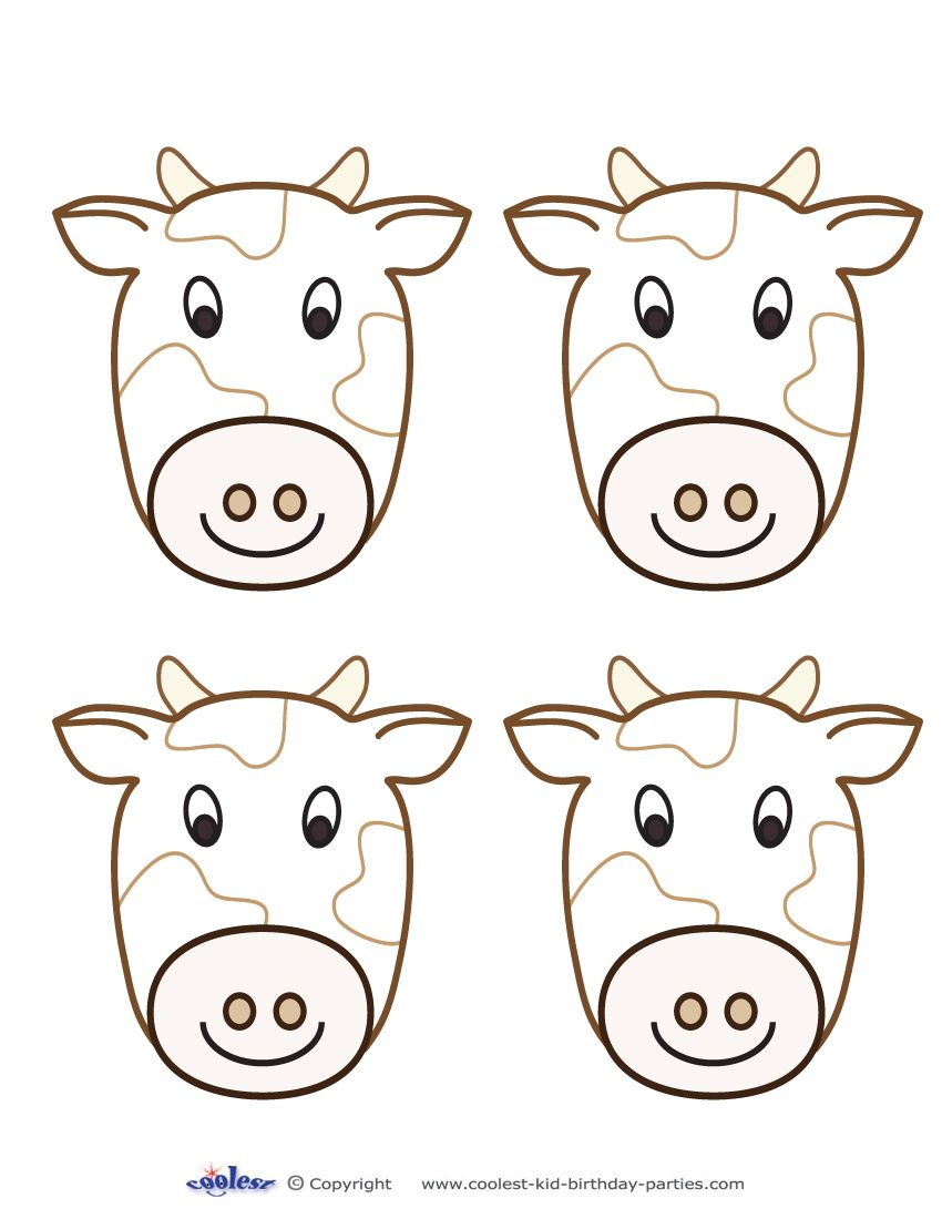 Blank Printable Cow Thank You Cards Thank You Cards Free Coloring Pages Cards [ 1100 x 850 Pixel ]