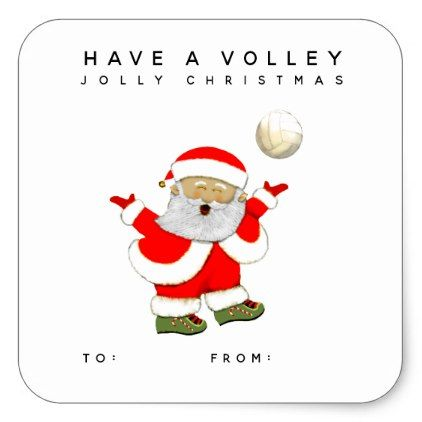 Volleyball Christmas Gift Tags Zazzle Com Diy Christmas Gifts For Kids Family Christmas Gifts Volleyball Christmas Gifts