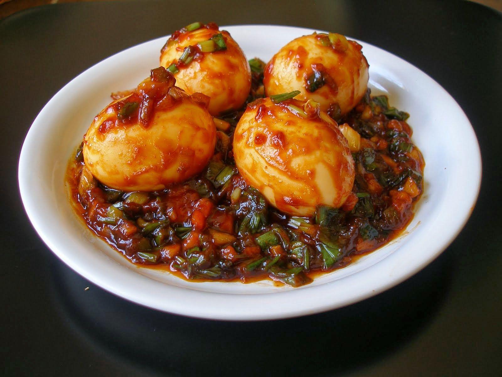 Darothi's Kitchen: Egg Manchurian