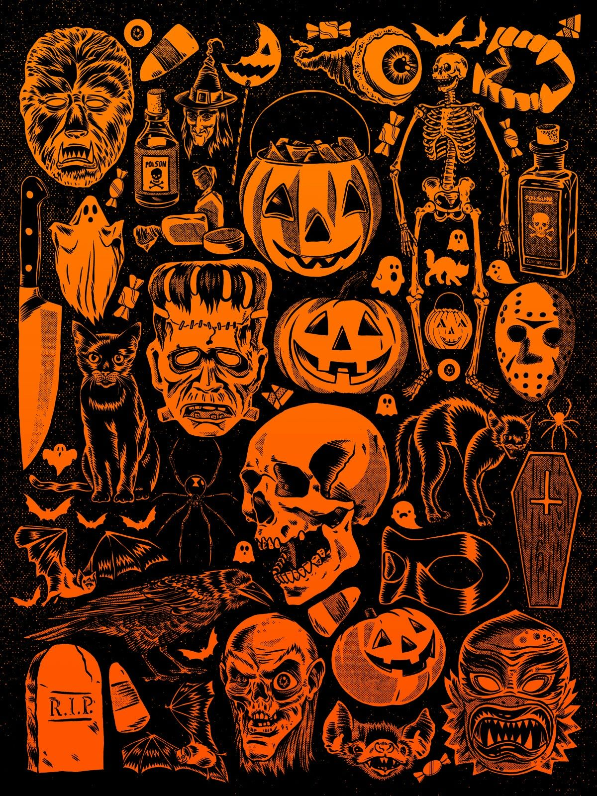 Happy Halloween Halloween Artwork Halloween Art Halloween Wallpaper