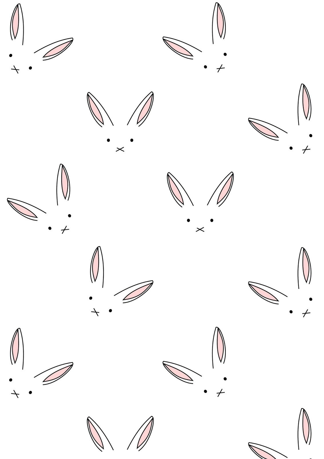 Free digital bunny scrapbooking paper minimalist ausdruckbares i know this isnt a template but i thought it was too cute free printable easter bunny pattern paper maxwellsz