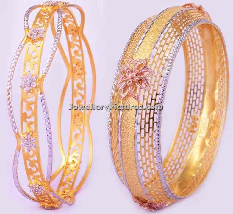 bhima jewellers gold bangles designs | gold bangle | Pinterest ...