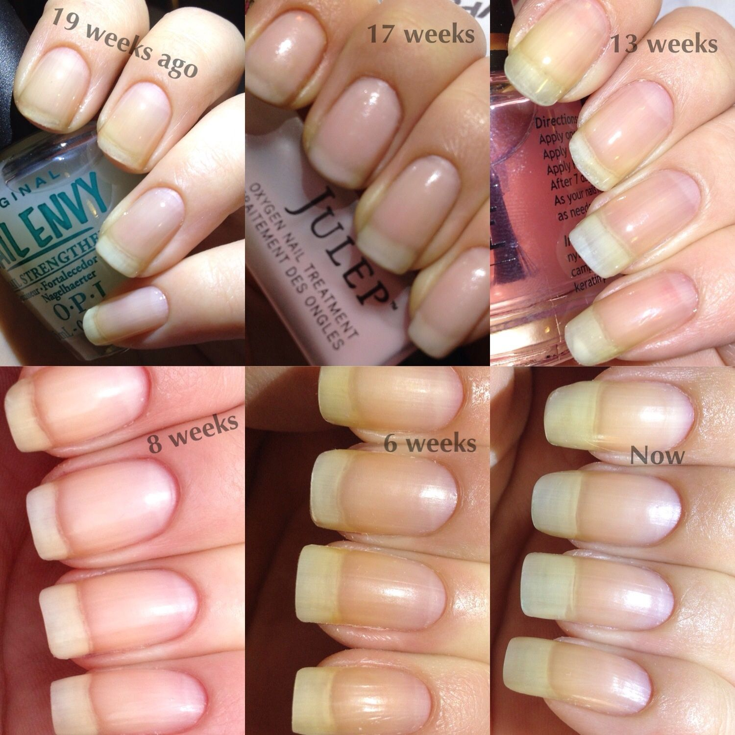 My Nail Journey Growing Natural Nails after damage from Acrylics