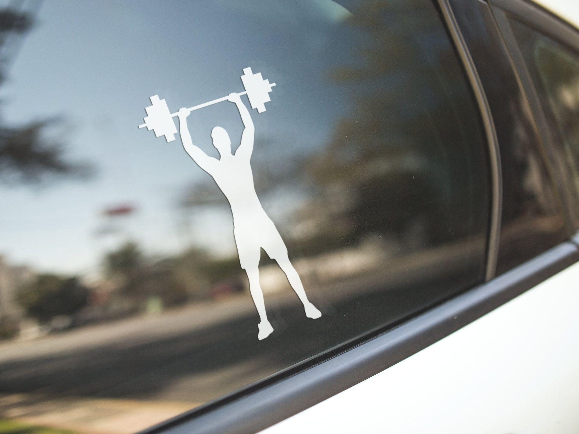 Weightlifter Weightlifting Weight Lift Personal Strength Etsy In 2020 Window Art Art Gift Vinyl Sticker [ 1440 x 1920 Pixel ]