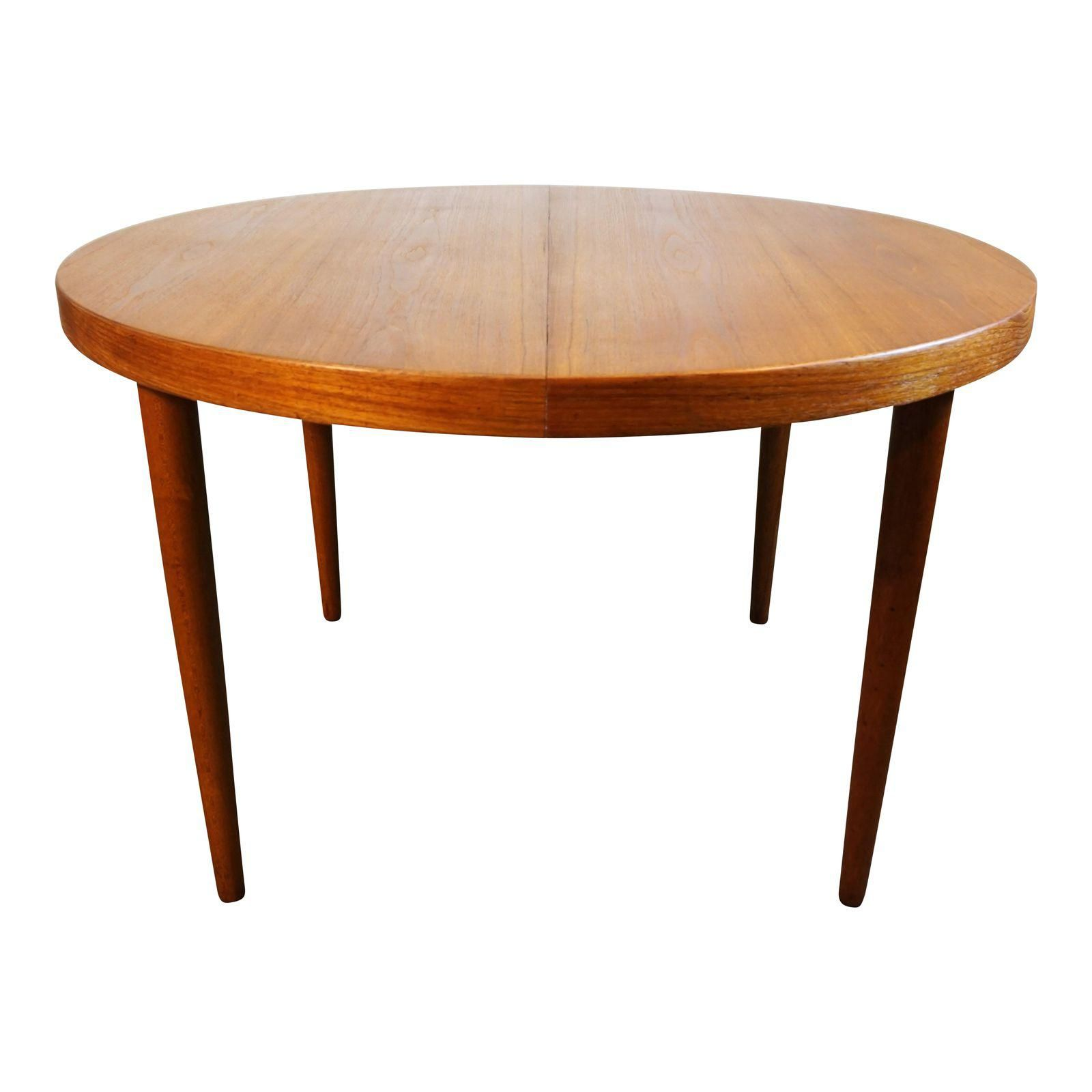 Couchtisch Baltimore Danish Round Teak Table With Secret Drawer Skjold Image 1 Of 8