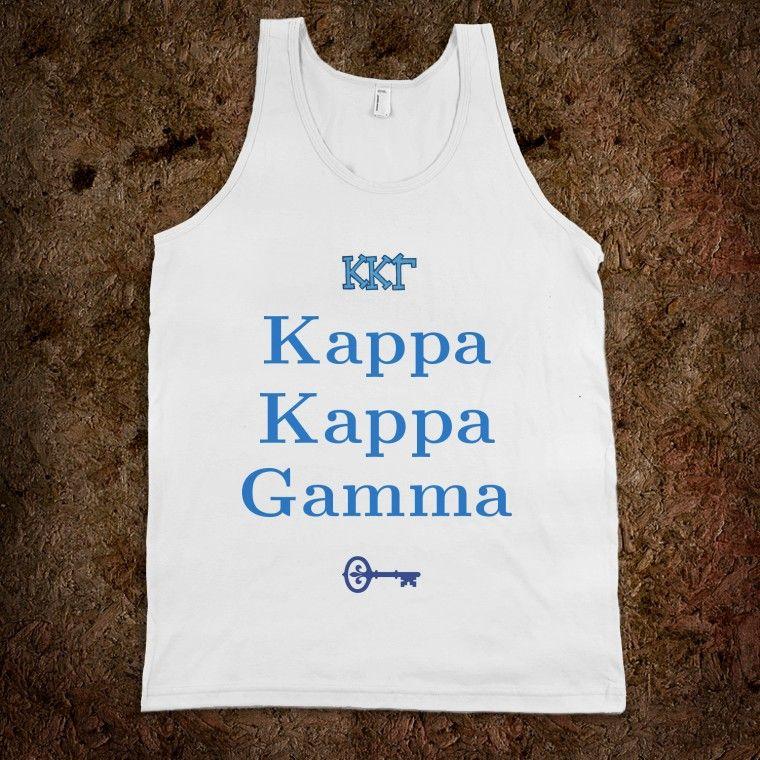 Kappa Kappa Gamma Frat Tank
