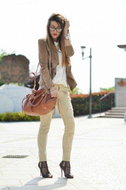 SCENT OF ROSES - outfit elegante chic estate 2013 blogger moda