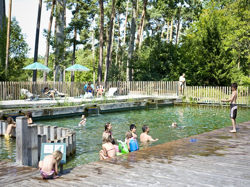 Camping huttopia rambouillet piscine naturelle france for Rambouillet piscine