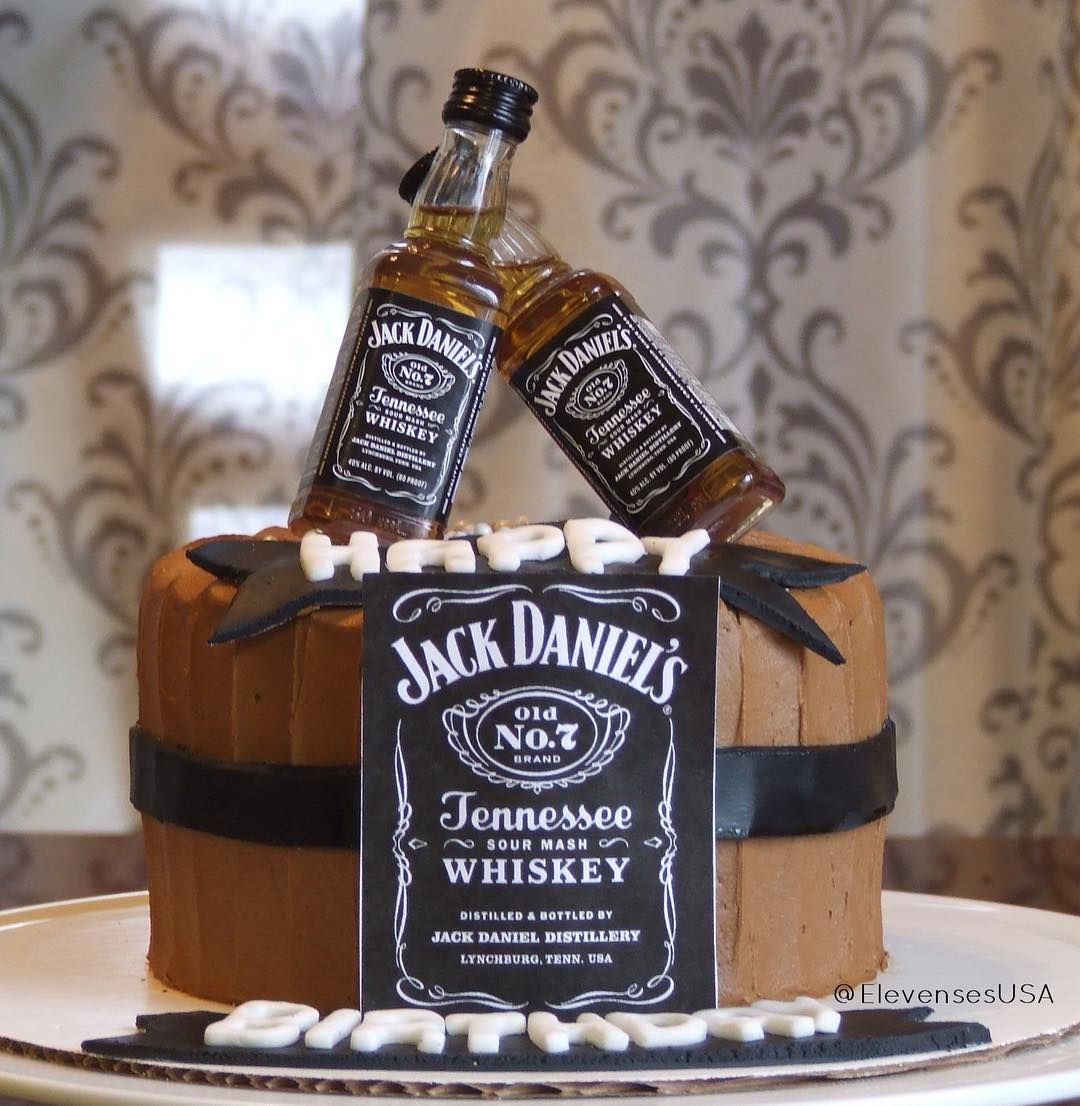 Jack Daniel S Cake Perfect Birthday Cake With Images Beer