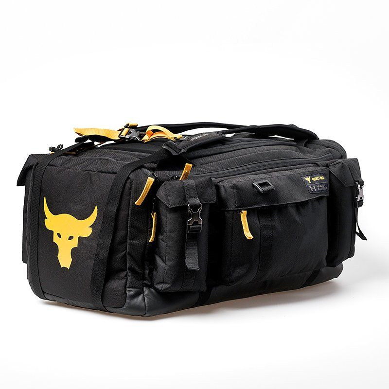 Shop Under Armour for UA x Project Rock Range Duffle in our Mens Duffels  department. Free shipping is available in US. 0ff997e1259b5