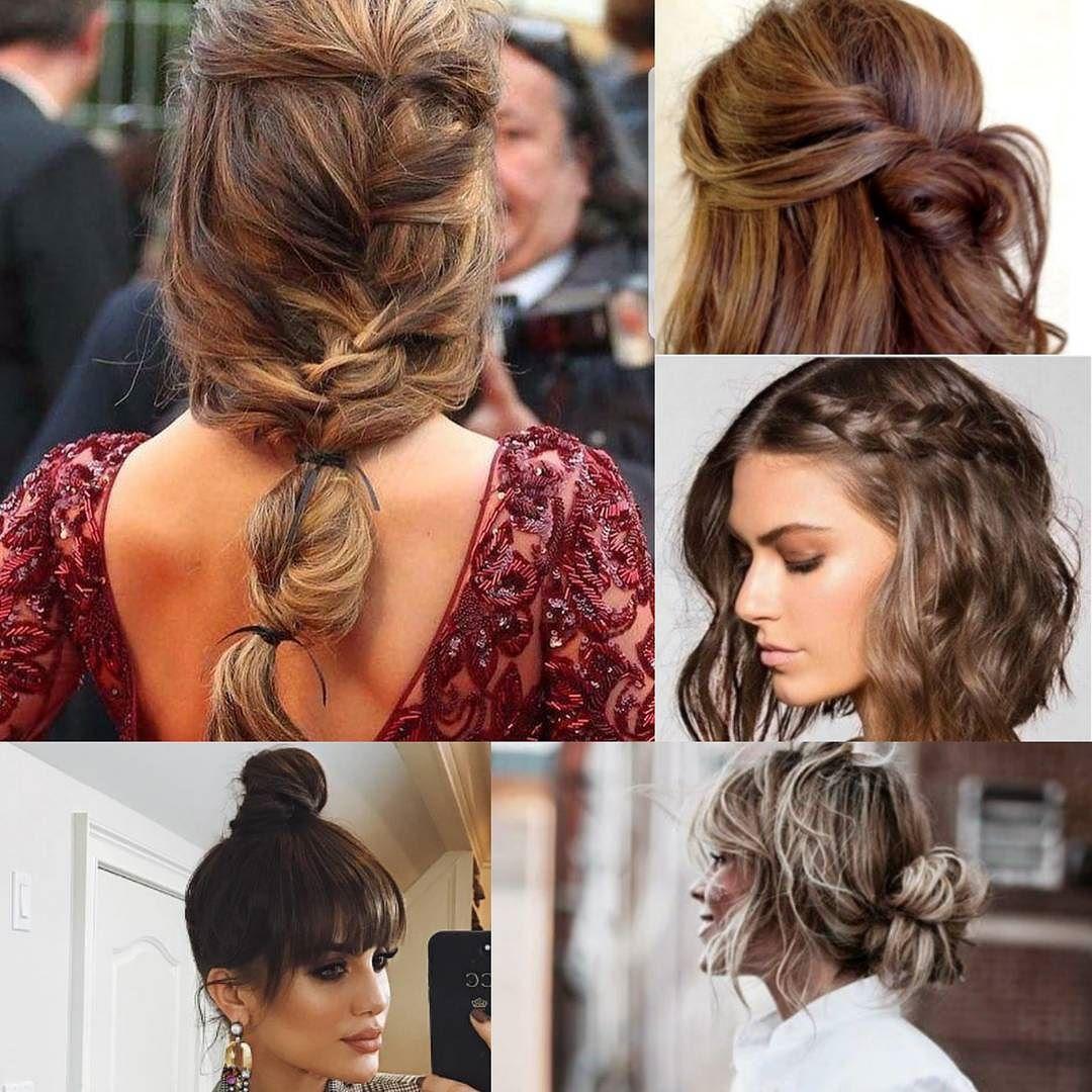 hoy os traigo 5 peinados de inspiracin para despedir el 2017 actuales sencillos de crear y que le acabarn de dar ese toque a tu look - Peinados Actuales
