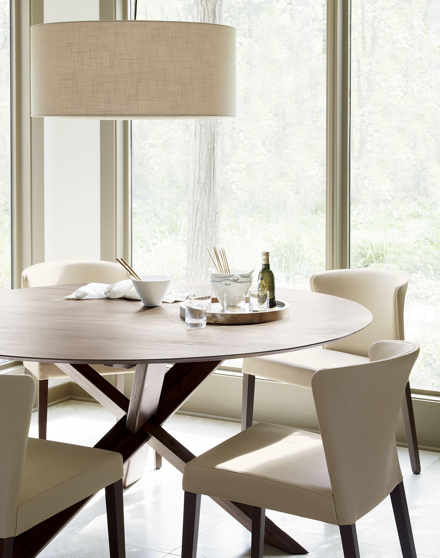 Curran Crema Dining Chair Reviews Crate And Barrel Mebel Kuhnya [ 3000 x 2361 Pixel ]