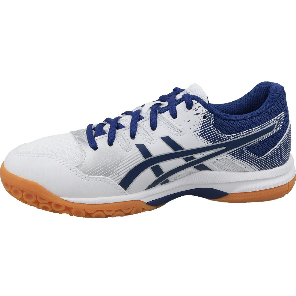 Buty Do Siatkowki Asics Gel Rocket 9 W 1072a034 102 Biale Biale Volleyball Shoes Shoes Stand Shoes