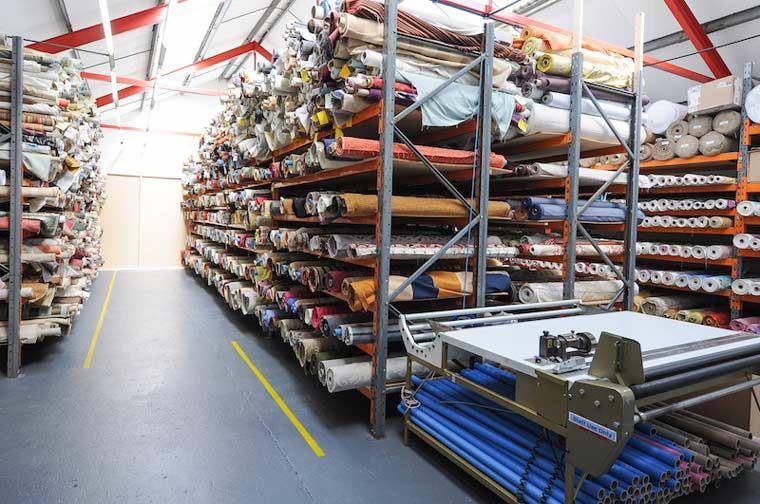 Fabric Shop Fabric Shop Fabric Shop Display Warehouse Design