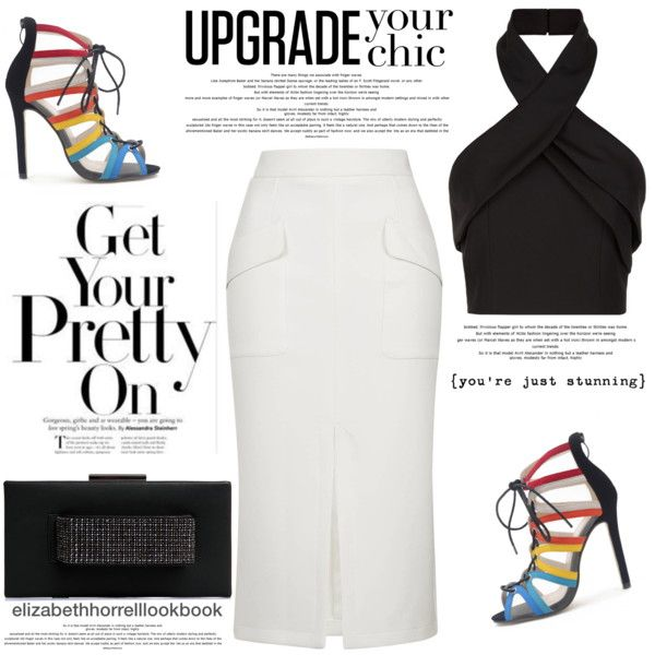 My Wardrobe Adventures! by elizabethhorrell on Polyvore featuring Finders Keepers, Topshop and WithChic