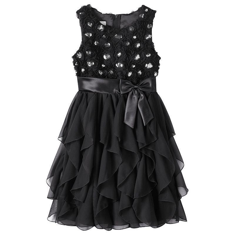 Girls 7 16 Plus Size American Princess Corkscrew Dress Girls