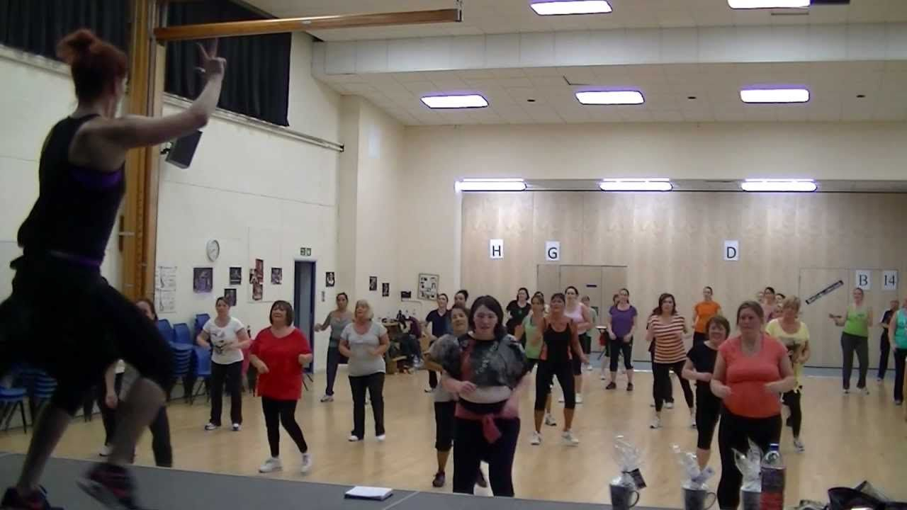 Liverpool Zumba Crazy Little Thing Called Love Michael Buble