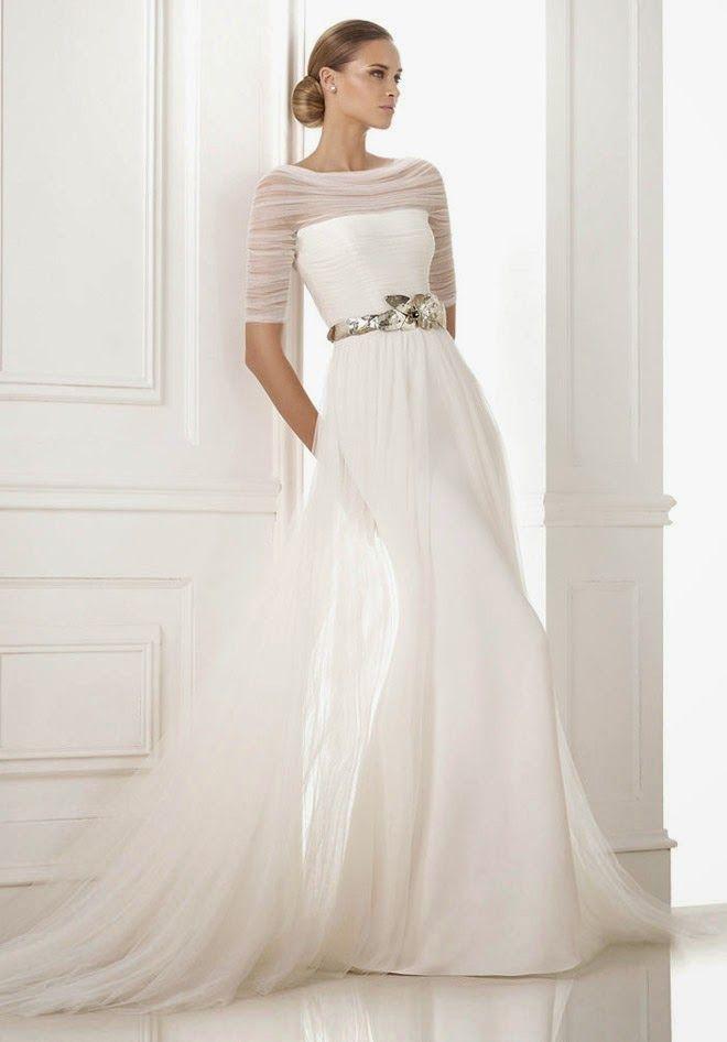 Pronovias 2015 Bridal Collections - Part 1 | http://bellethemagazine.com
