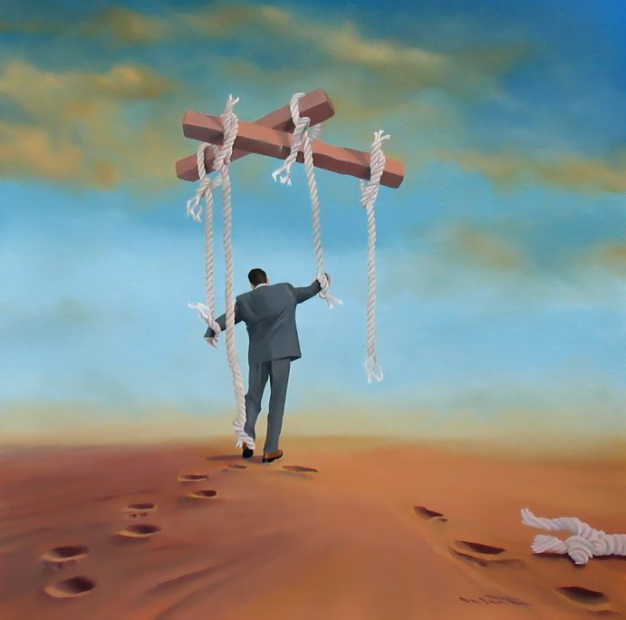 Rene Schute | Surreal art, Learned helplessness, Surrealism