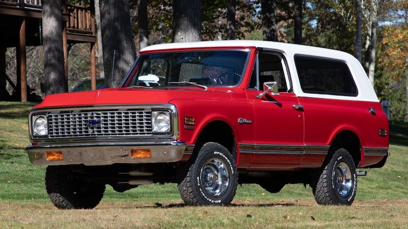 1972 Chevrolet K5 Blazer T182 Kissimmee 2020 In 2020 K5