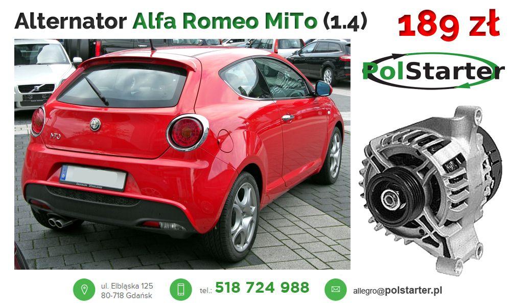Alternator Fiat 500 Bravo Panda 1 2 1 4 Punto Iii 6385667547 Oficjalne Archiwum Allegro Fiat 500 Alternator Fiat