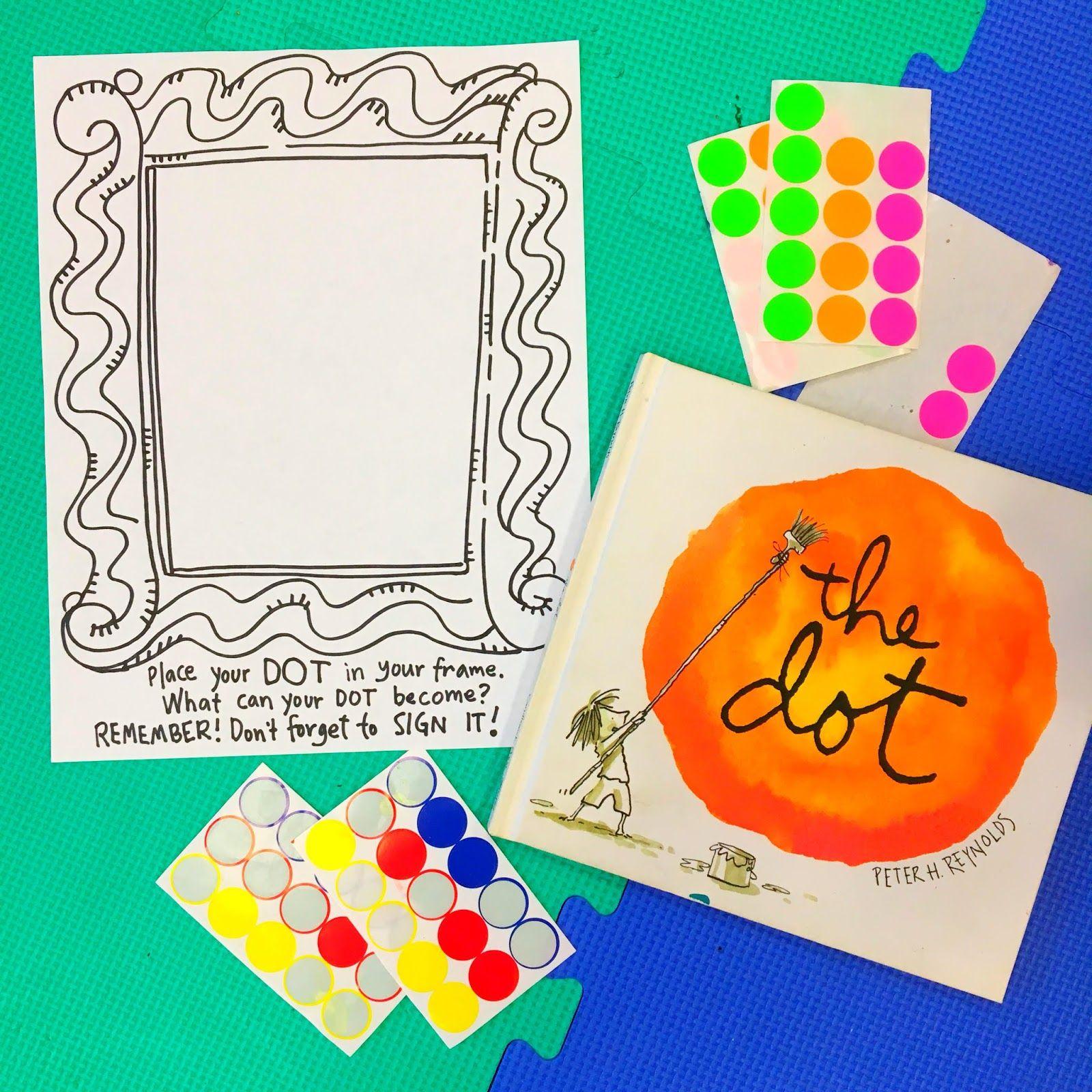 do a dot art projects