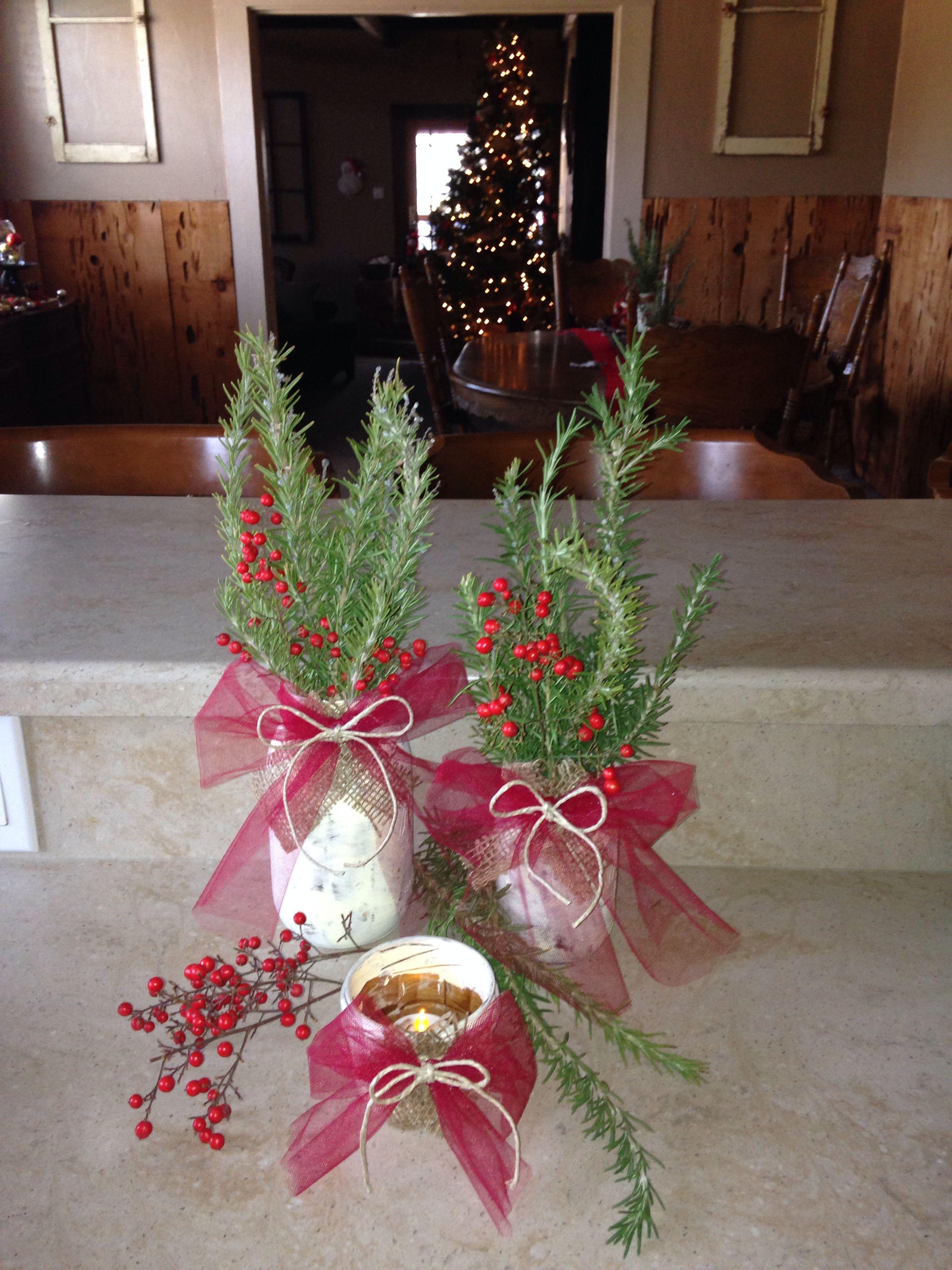 Mason jar vases/candle holders/decorations: paint the jars dark brown, sand, paint vanilla color ...