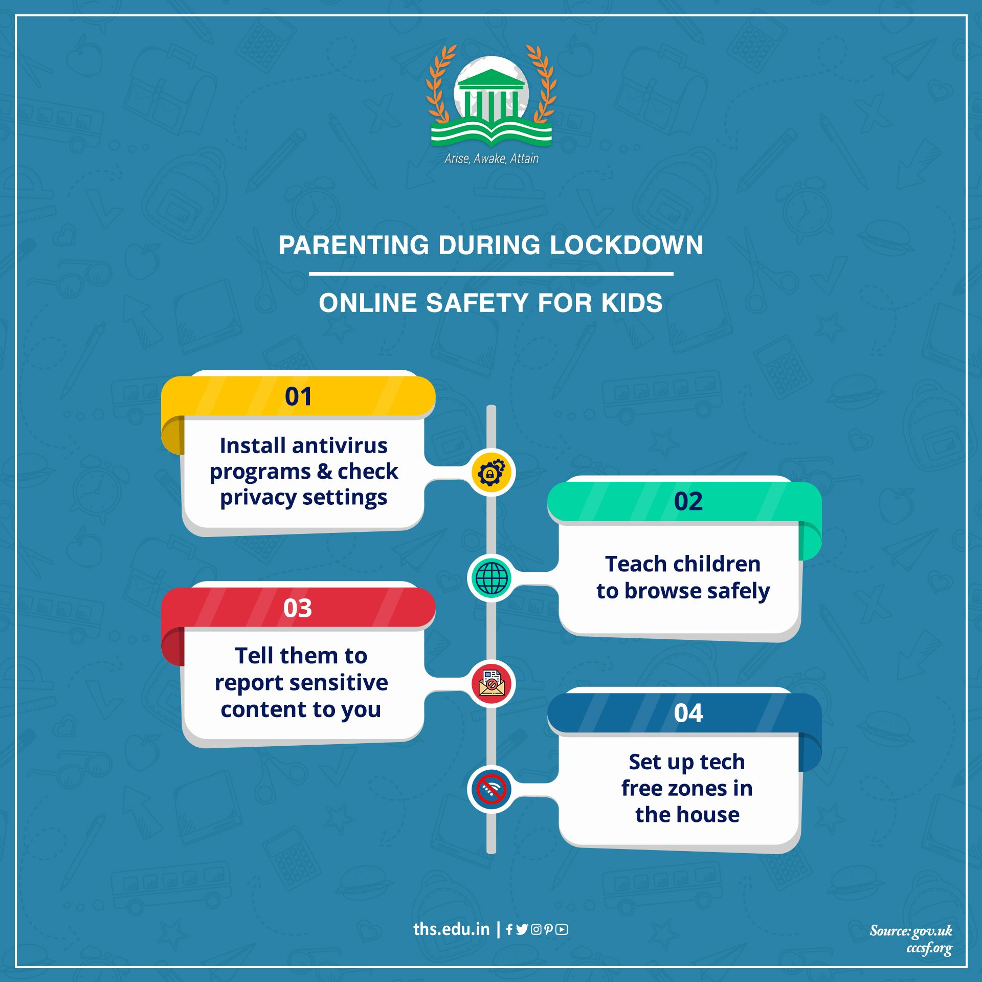 Ensure your kids safety with these online safety tips