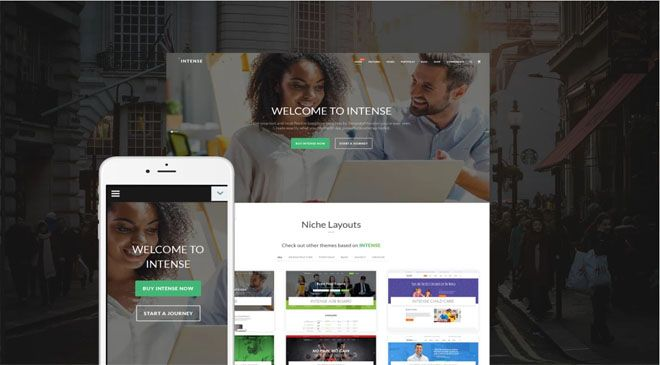 The #1 All Time Intense Multipurpose HTML5 Theme from Template - monster resume templates