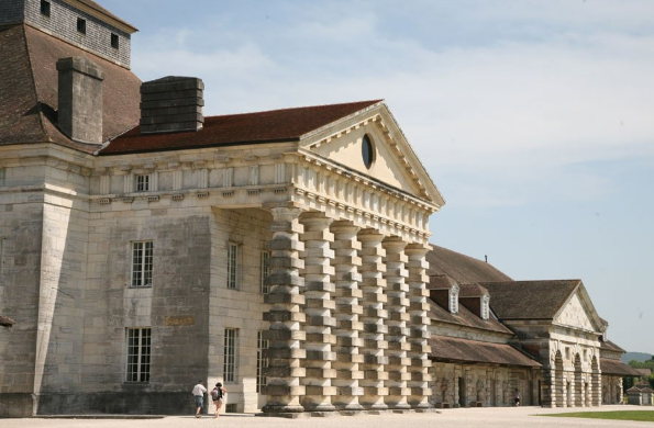 Former Royal Saltworks, currently Fondation Claude - Nicolas Ledoux