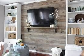 Image Result For Barnwood Tv Wall Pallet Accent Wall
