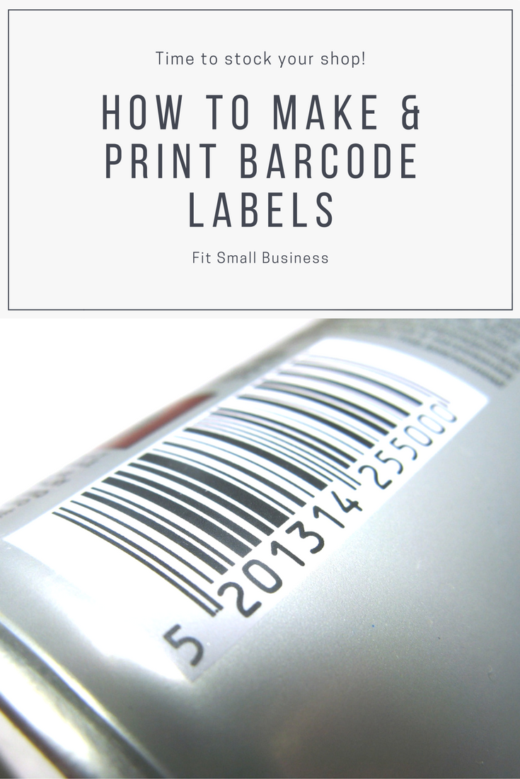 You Don T Need To Outsource Your Barcode Label Printing Do It At Your Store Instead Make Your Own Label Barcode Labels Printing Labels Make Your Own Labels