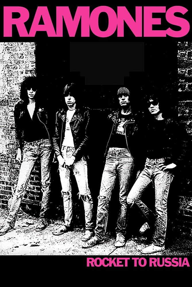 Ramones Rocket To Russia Poster For Your Home Ramones