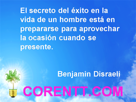 Frases de exito desde nuestro blog de superacion personal http://blog.corentt.com/ y nuestro sitio http://corentt.com/