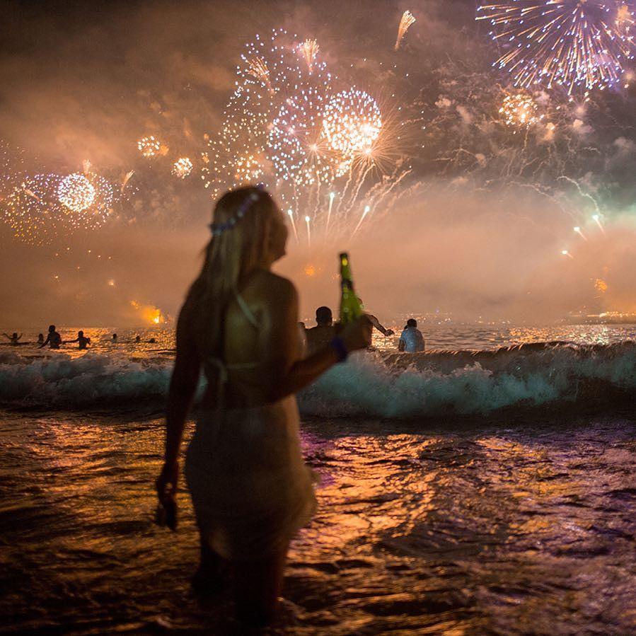 "AP Images on Instagram ""Fireworks light the sky over"