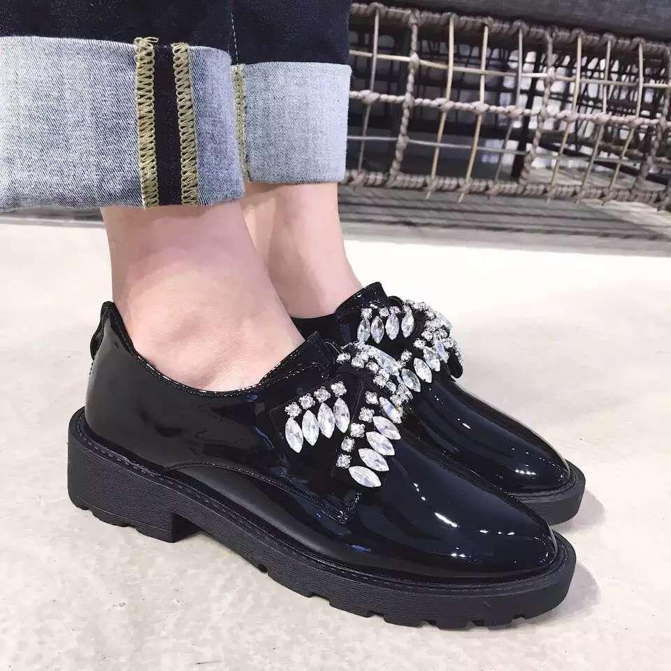 womens dress shoes flats black