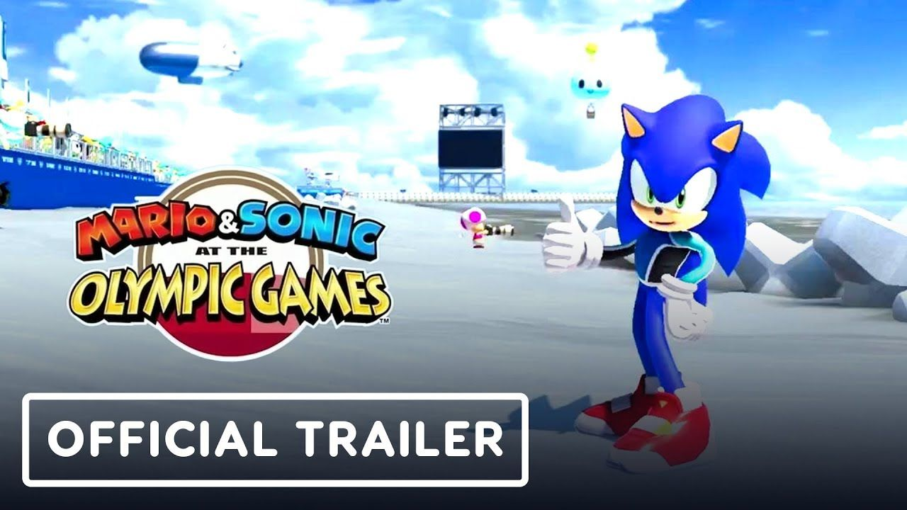 E3 Games 2020.Mario And Sonic At The Olympic Games 2020 Trailer E3 2019
