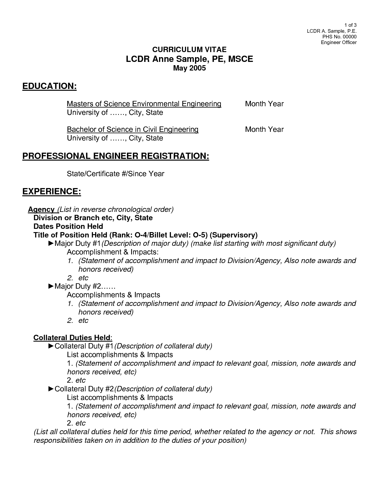 Structural Engineer Resume For Volunteer  Club Ideas  Pinterest  Resume Builder