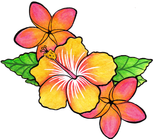 Flower Tattoo Png Clipart Png Image Flower Tattoo Jungle Flowers Lower Back Tattoo Designs