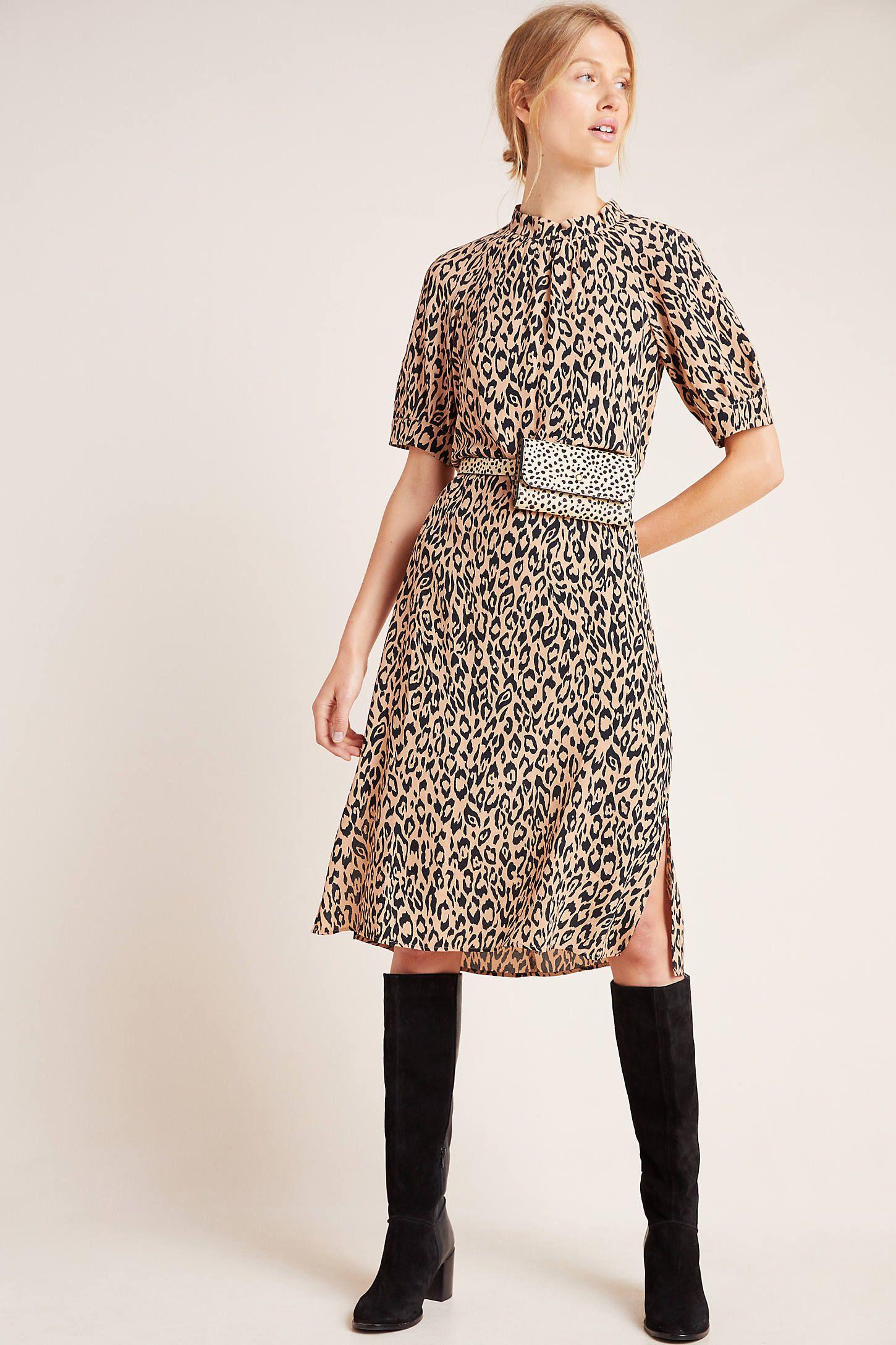 McKenzie Mock Neck Tunic Dress